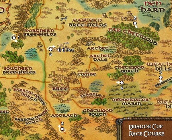 Eriador Cup Map