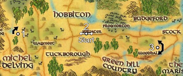 Firefoot Sprint Map