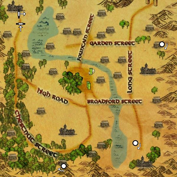 Wraith Race Map