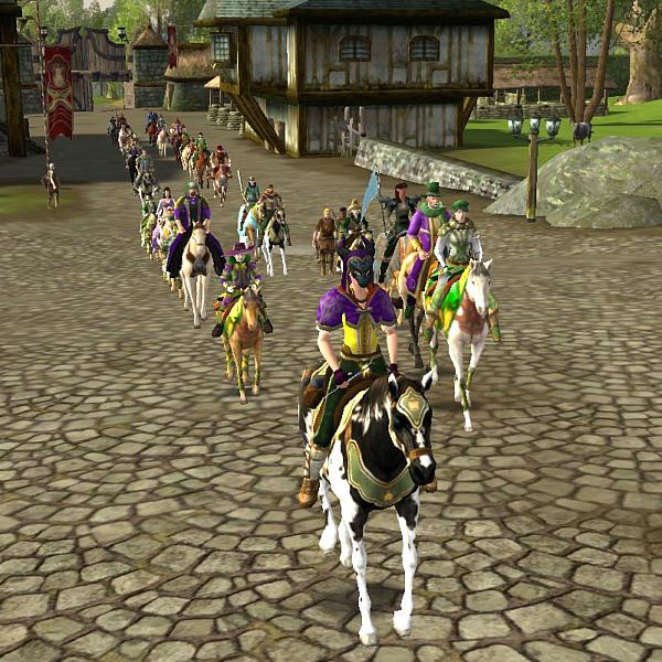 Carnival Ride 2013 - Horse Parade