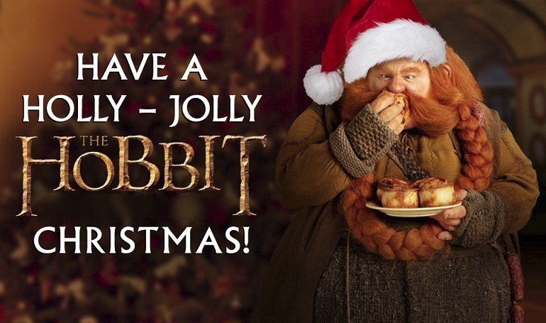 Have a Holly-Jolly Hobbit Christmas!
