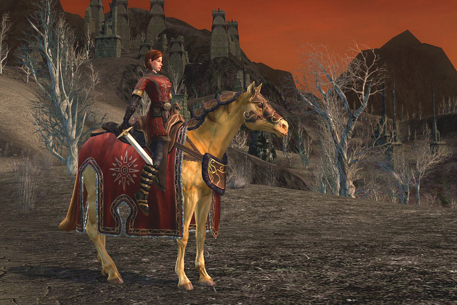 Red-Clad Horse of the Gap