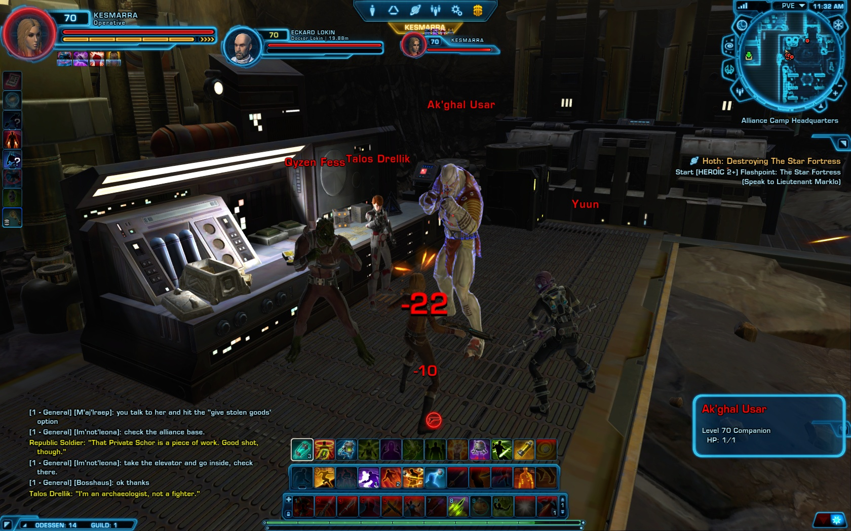 STAR WARS: The Old Republic - ODESSEN IS TRYING TO KILL ME